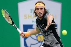 Stefanos Tsitsipas Beats Novak Djokovic Shanghai Masters Qualifies Atp Finals