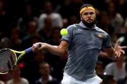 Tsonga Seals Zverev S London Spot Nadal And Djokovic Progress In Paris
