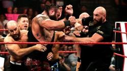 Tyson Fury Braun Strowman Brings Chaos On Wwe Raw Main Event Segment