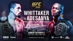 Ufc 243 Whittaker Vs Adesanya Fight Card Preview And Where To Watch
