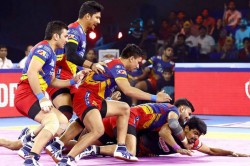 Pro Kabaddi League 2019 Up Yoddha Bengaluru Bulls Match Report