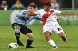 Peru 1 0 Uruguay Gonzales Nunez 10 Man Uruguay Draw