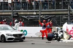 Valtteri Bottas Cleared Injury Qualifying Crash Mercedes Mexican Grand Prix F