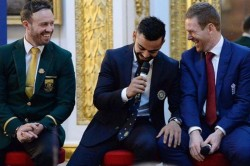 Virat Kohli Shares A Throwback Pic With Ab De Villiers And Eoin Morgan Instagram