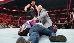 Wwe Plan Brock Lesnar Vs Cain Velasquez At Wrestlemania