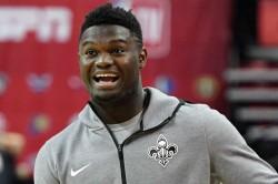 Zion Williamson Nba Debut Dunk High School College Pelicans Lot Of Fun