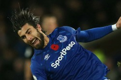 Cenk Tosun Motivate Andre Gomes Everton Ankle Injury