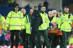 Andre Gomes Injury Everton Tottenham Premier League