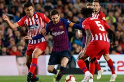 Atletico Madrid Host Barcelona In La Liga Blockbuster