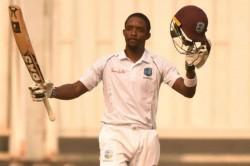 Shamarh Brooks Centiry Rahkeem Cornwall Century West Indies Afghanistan First Test