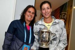 Garbine Muguruza Conchita Martinez Coach