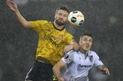 Europa League Vitoria Sc 1 1 Arsenal Duarte Denies Gunners At The Death