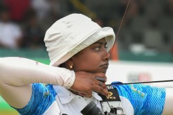 Deepika Wins Gold India Secure Olympic Quota