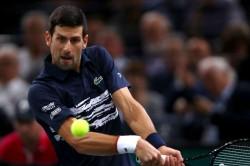 Novak Djokovic Into Atp Paris Masters Semi Finals Beats Stefanos Tsitsipas