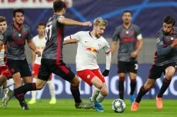 Rb Leipzig Benfica Champions League Report Emile Forsberg Double