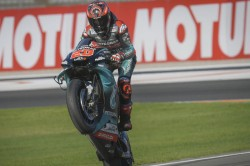 Quartararo Takes Honours In Practice Session