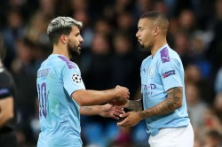 Gabriel Jesus Manchester City Play Wide Learn Sergio Aguero