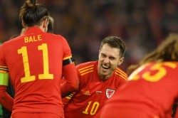 Aaron Ramsey Delighted Gareth Bale Wales Euro