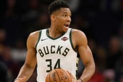 Giannis Milwaukee Bucks Trail Blazers Pelicans Suns Nba