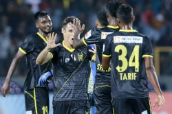 Isl 2019 20 Hfc Vs Kbfc Marcelinho Bends It For Hyderabad
