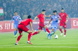 Fifa 2022 World Cup Qualifiers India Vs Afghanistan Super Sub Doungel Helps Blue Tigers Earn Point