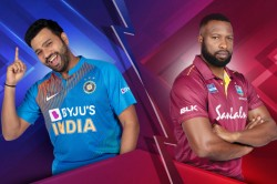 India Vs West Indies Happy Unfriendshipday Says Rohit Sharma To Kieron Pollard