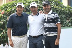 Panasonic Open India The Big Three Of Indian Golf Are Back Together