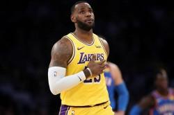 Lebron James History La Lakers Trail Blazers Carmelo Anthony Debut