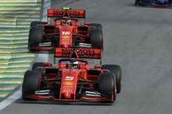 F1 Raceweek Vettel Leclerc Team Mates Collide