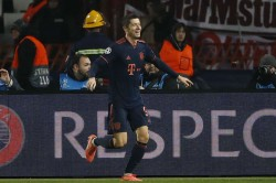 Robert Lewandowski Scores Five Fc Bayern Demolish Red Star Belgrade Champions League