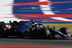 F1 United States Grand Prix Lewis Hamilton Wins Title
