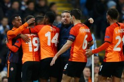 Manchester City Shakhtar Donetsk Champions League Pep Guardiola Through