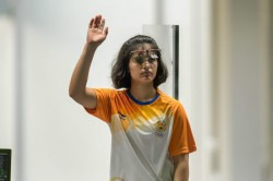 Asian Championships Deepak Bags India S 10th Olympic Quota Shooting Manu Bhaker Wins Gold