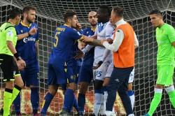 Mario Balotelli Racist Abuse Serie A Brescia Hellas Verona