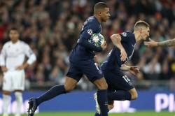 Real Madrid Paris Saint Germain Kylian Mbappe Pablo Sarabia Late Show Champions League