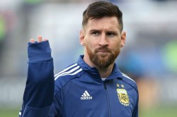 Brazil Argentina Lionel Messi Scores On Return From Ban
