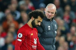 Mohamed Salah Liverpool Forward Ruled Out Egypt Ankle Injury