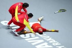 Spain Win Davis Cup Rafael Nadal Roberto Bautista Agut Canada