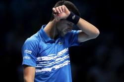 Novak Djokovic Davis Cup Finals Elbow Injury