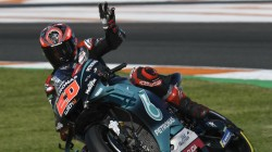 Quartararo A Cut Above Rest On Day 1 Of Valencia Test