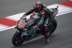 Fabio Quartararo Pole Position Malaysian Grand Prix Marc Marquez Crashes Qualifying