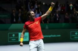 Rafael Nadal Feliciano Lopez Hosts Spain Through To Davis Cup Final Canada Madrid