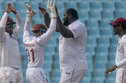 Afghanistan Vs West Indies Cornwall Takes Spectacular Seven To Give Windies The Edge