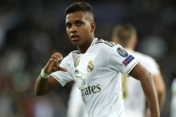 Real Madrid 6 0 Galatasaray Rodrygo Hat Trick Hosts Brink Last