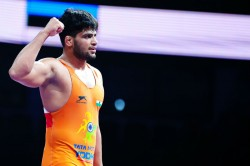 Under 23 World Wrestling Championships Sajan Bhanwal Storms Into Semi Finals