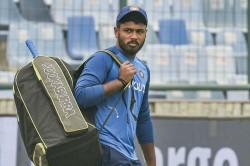 Sanju Samson To Replace Injured Shikhar Dhawan For Wi T20 Series Reports