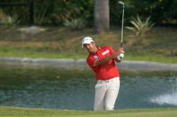 Panasonic Open India Shiv Kapur Takes A Share Of The Lead Four Indians Feature In Top