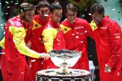 Rafael Nadal Spain Davis Cup Win