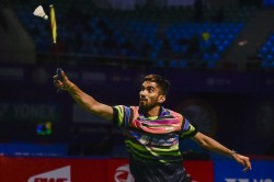 Korea Masters Srikanth Sameer Progress Sourabh Bows Out