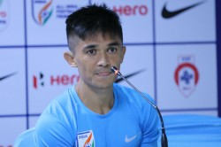 Oman Vs India 22 Fifa World Cup Qualifiers Points Not Revenge On Mind Against Oman Sunil Chhetri